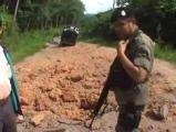 ข่าว ระเบิด     ภาึคใต้  3 จังหวัดชายแดนภาคใต้    ตำรวจ  เสียชีวิต อำเภอยะหา ระเ