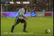 คลิป อาร์เจนตินา 3-2 คอสตาริกา ฟุตบอลกระชับมิตร26-01-2010