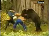 หมี ผู้หญิง ดุร้าย เฉียด ตาย