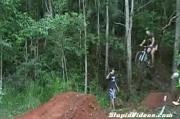 BMX โชว์ พลาด จักยาน