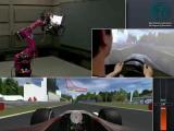 คลิป เกมแข่งรถ f1 เสมือนจริง