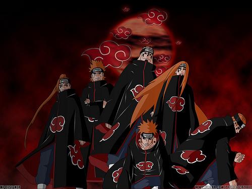 แสงอุสา , นารูโตะ , Akatsuki , Naruto