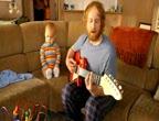 คลิป ตะลึง เด็กทารกเล่นกีตาร์