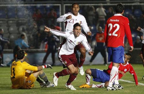 ชิลี 1-2 เวเนซุเอล่า..โคปา อเมริกา รอบ 8 ทีมสุดท้าย