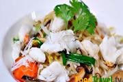 อาหารจีน ผัดหมี่ซั่ว ทะเล