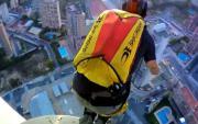 คลิป กระโดดร่ม ลิฟต์ ตึกสูง ใจกล้า ท้าทาย บ้าบิ่น หวาดเสียว น่ากลัว