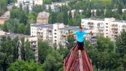 สุดเจ๋ง,กล้า, ท้าทาย, เสี่ยงตาย, เดินบนคานเหล็กสูง 150 เมตร, ไม่ใช้สลิง ไม่ใช้สต