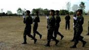 กองทัพ กองทัพไทย กองทัพบก ควงปืน โชว์