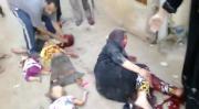 คลิป พลเรือน บอมส์ ซีเรีย กองกำลัง Assad ปืนใหญ่