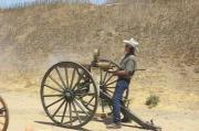 คลิป ยิงปืนกล Colt M1883   ปืนสมัยสงครามกลางเมืองอเมริกา(มันส์น่าดู)