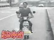คลิป รถมอเตอร์ไซค์ tv japan funny motorcycle