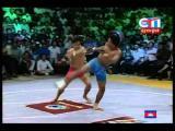 มวยแปลก! Phen Somnang Vs. Chuch Chunry - Cambodian bokator