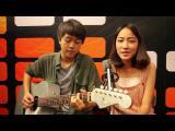 คลิป รักต้องเปิด (แน่นอก) Acoustic version - 3.2.1 feat.ใบเตย อาร์สยาม [cover] Pie and Cha
