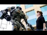 คลิป สุดล้ำ โรบอทยักษ์ บังคับแบบไร้สาย จาก Comic Con 2013