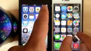 คลิป >:iOS7 ช้ากว่า iOS6 จริงหรือ ลองมาดูคลิปเปรียบเทียบกัน:<
