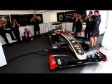 คลิป แฮปปี้ เบิร์ธเดย์ รถ F1 เจ๋ง