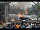 คลิป อุบัติเหตุ รถไฟ สยองขวัญ อินโดนีเซีย