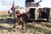 ทหาร Iraq Al Maliki ยิงเป็นชุดเจอ sniper ซุ่มยิงถอย