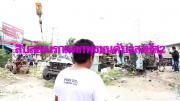 รถสิบล้อบรรทุกดินเบรกแตก พุ่งชนกับรถกระบะขนมะม่วง