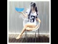 สด ๆ ร้อน ๆ น้องอ้อย โซระ อาโออิ ตามกระแส รับคำท้า Ice Bucket  Challenge แล้วจ้า