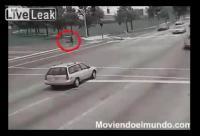 ซวยกว่านี้มีอีกไหม เดินอยู่บนถนนอยู่ดีดี รัสเซีย