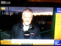 นักข่าว Sky sports โดยแฟนบอล Everton เล่นเข้าซะแล้ว
