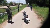 ทหารราชบุรี จัดการเด็กซิ่งรถ!