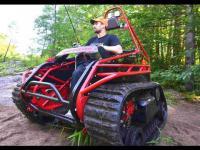 รถ Wheelchair ระดับฮาร์ดคอร์ พาคนพิการลุยน้ำลุยป่า ไปได้ทุกที่