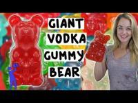 ทำวอคก้าในเยลลี่หมี Vodka Gummy Bear