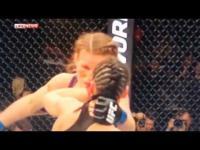 มวยสาว MMA สุดโหด! ต่อยเปรี้ยงหูขาดเลือดสาดกระจาย(ชมคลิป)