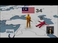 มาเลเซีย จับ ผู้ต้องสงสัย เกี่ยวพัน ไอซิส ISIS