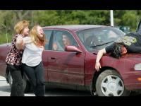 รวมคลิปอุบัติเหตุ ทางรถยนต์ 4