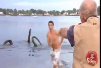 คลิปแกล้งคน - ปลาหมึกยักษ์