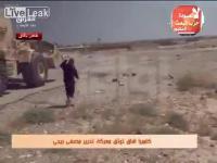 คลิป ISIS รถระเบิดฆ่าตัวตายถูกทำลายก่อนที่จะถึงเป้าหมาย