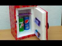 ทำตู้เย็นจิ๋วจากกล่องโฟมเหลือใช้ เอาใว้แช่กระป๋องเบียร์เกร๋ๆ 555