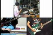 เทพ กลอง ดนตรี การ์ตูน Haruhi anime มือกลอง มันส์ เบส มือเบส กีต้าร์ วง วงดนตรี