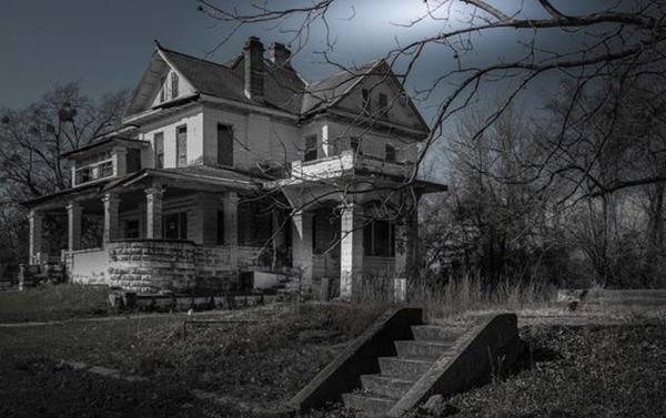 ภาพ Quot บ้านผีสิง Quot ที่ถูกปล่อยทิ้งร้างในสหรัฐฯ แต่ละหลังหลอนจน
