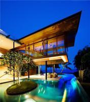 สิ่งแวดล้อม บ้านสีเขียว บ้านพักตากอากาศ ประเทศสิงคโปร์ ฟิชเฮ้าส์