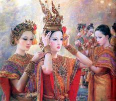 จิตรกรรม วรรณคดีไทย อ.จักรพันธุ์ โปษยกฤต...ศิลปินแห่งชาติ