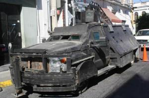 รถหุ้มเกราะ ของพ่อค้ายาเสพติด เม็กซิโก