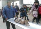 จีน ศพเด็ก ฝังศพ   สะพาน