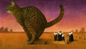 ภาพ สวยงาม สะเทือนใจ ภาพวาดแปลก สะท้อน สังคม ผลงานศิลปิน
