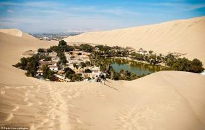 ทึ่ง...ท่ามกลางทะเลทรายอันเวิ้งว้าง กลับมีเมืองสุดหรูซ่อนอยู่