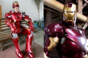 หนุ่มจีนทุ่มเทสร้างชุด 'Iron Man' กว่าครึ่งปี…ก่อนพบความจริงที่น่าปวดใจ!!