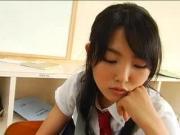 นักเรียนสาวหน้าใสวัยกระเตาะ