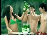 โฆษณา  สาวสวย    SEXY   เซ็กซี่    เบียร์     เกาหลี    สาวเกาหลี