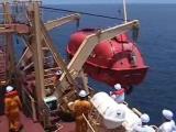 คลิปอุบัติเหตุ, เรือชูชีพ, น่ากลัว, lifeboat, lifeboat accident