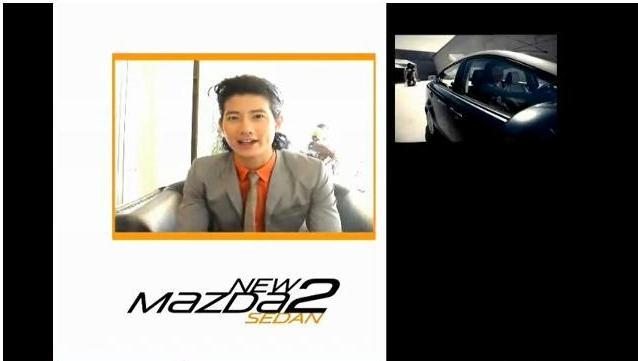 คลิป เบื้องหลังการถ่ายทำ, behind the scene, เป้ อารักษ์, Mazda, Mazda sedan, โฆษณา, Advertising