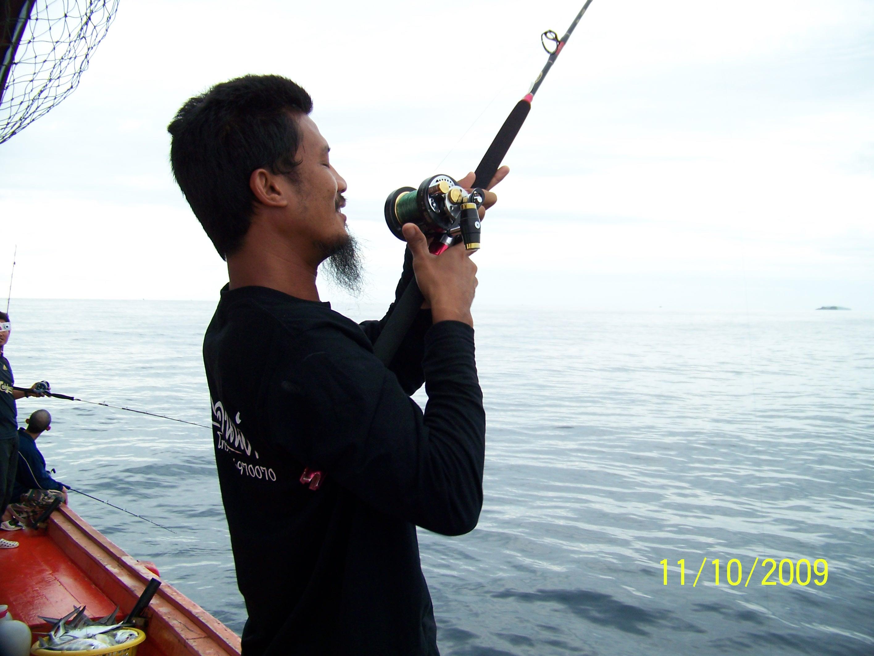 คลิป ตกปลาทะเล สตูล fishing thailand