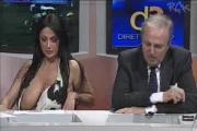 นักข่าวอิตาเลียนทำนมหก กลางรายการ(สด)